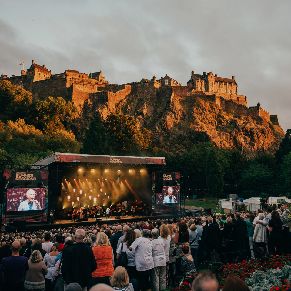 Summer Sessions in Princes Street Gardens