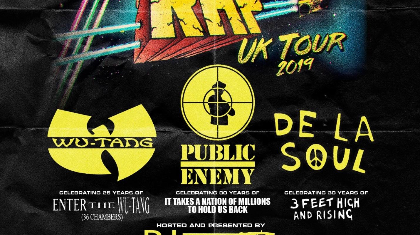Gods of Rap Tour: Wu Tang Clan + Public Enemy + De La Soul + DJ Premier